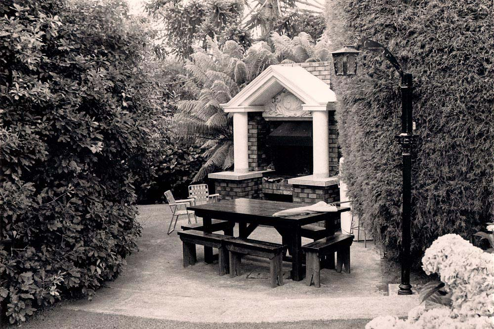 BBQ Area in the late 70's/early 80's